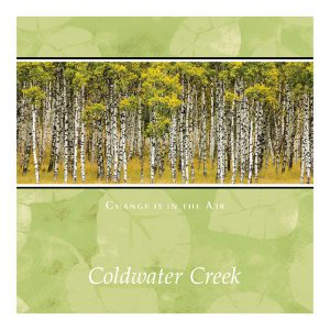 Coldwater Creek Fall 2008 Catalog Cover Art.