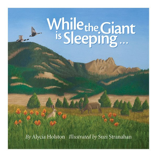 While the Giant is Sleeping Cover Art, Illustration.